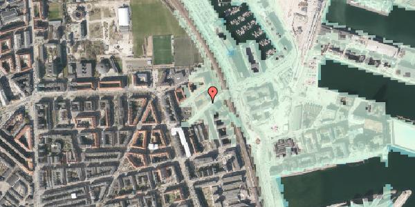 Stomflod og havvand på Vordingborggade 95, kl. , 2100 København Ø