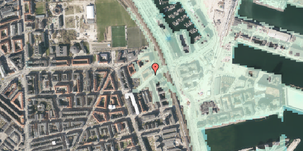 Stomflod og havvand på Vordingborggade 95, 3. th, 2100 København Ø