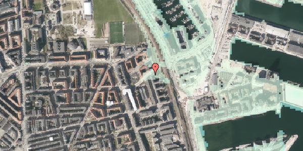 Stomflod og havvand på Vordingborggade 98, 3. th, 2100 København Ø