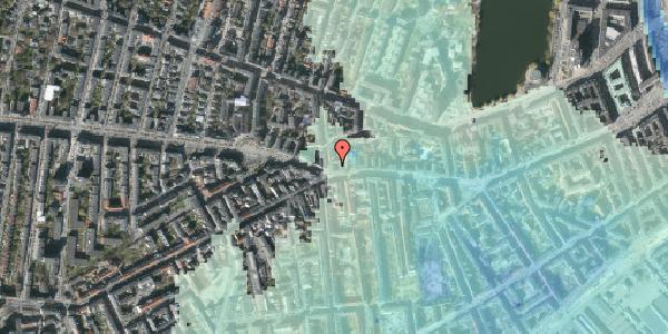 Stomflod og havvand på Værnedamsvej 2, kl. mf, 1619 København V