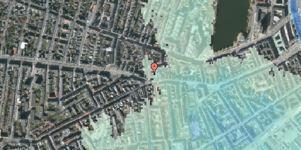 Stomflod og havvand på Værnedamsvej 4A, 4. tv, 1619 København V