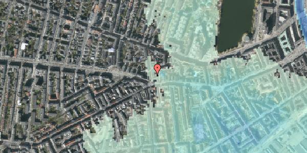 Stomflod og havvand på Værnedamsvej 4A, 5. th, 1619 København V