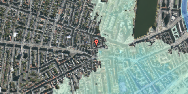 Stomflod og havvand på Værnedamsvej 8, 5. , 1619 København V