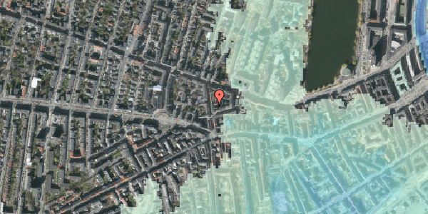 Stomflod og havvand på Værnedamsvej 10, 4. tv, 1619 København V