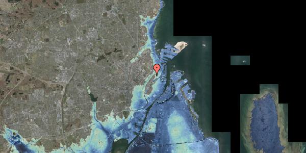 Stomflod og havvand på Zinnsgade 1, 3. tv, 2100 København Ø