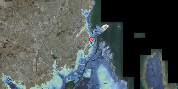 Stomflod og havvand på Zinnsgade 4, 1. tv, 2100 København Ø