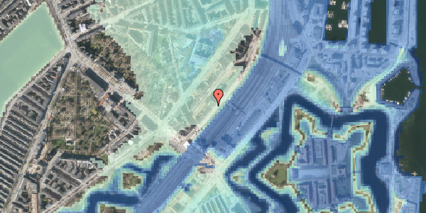 Stomflod og havvand på Østbanegade 9, 2. tv, 2100 København Ø