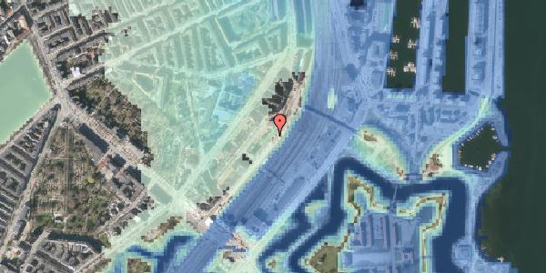 Stomflod og havvand på Østbanegade 15, 1. tv, 2100 København Ø