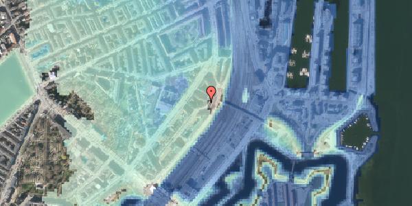 Stomflod og havvand på Østbanegade 19, 1. tv, 2100 København Ø