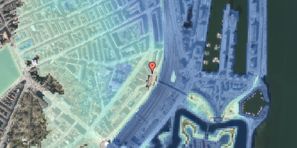 Stomflod og havvand på Østbanegade 21, 2. th, 2100 København Ø