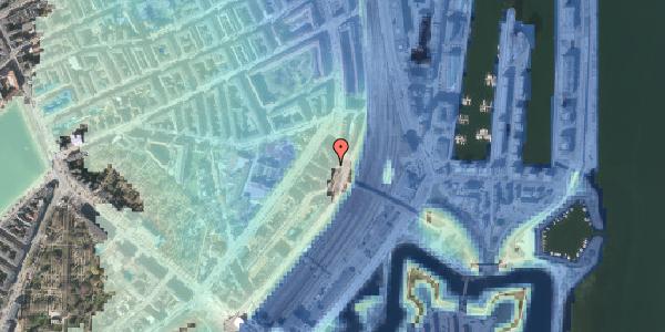Stomflod og havvand på Østbanegade 21, 3. tv, 2100 København Ø