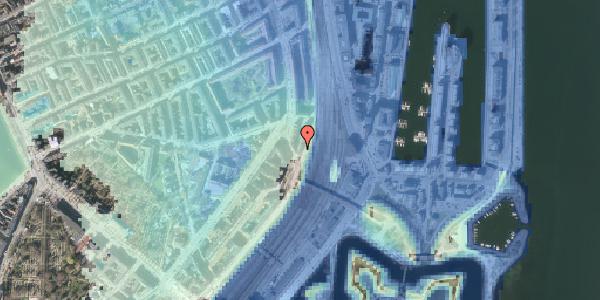 Stomflod og havvand på Østbanegade 23, kl. tv, 2100 København Ø