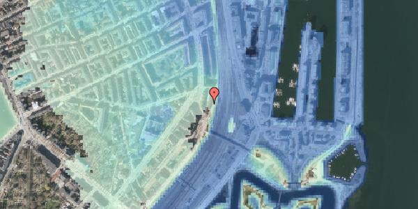 Stomflod og havvand på Østbanegade 25, 1. tv, 2100 København Ø