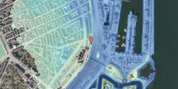 Stomflod og havvand på Østbanegade 27, kl. , 2100 København Ø