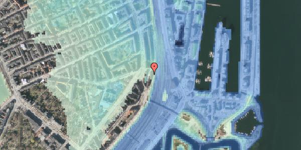 Stomflod og havvand på Østbanegade 29, kl. tv, 2100 København Ø