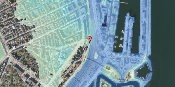 Stomflod og havvand på Østbanegade 29, st. tv, 2100 København Ø