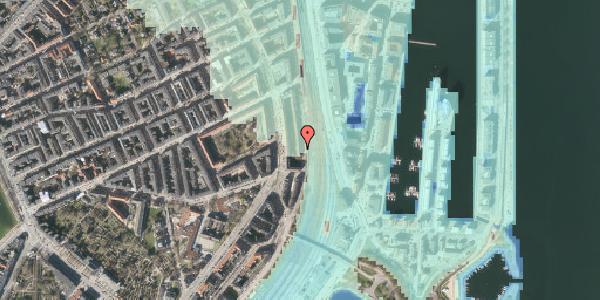 Stomflod og havvand på Østbanegade 33, 2. 1, 2100 København Ø