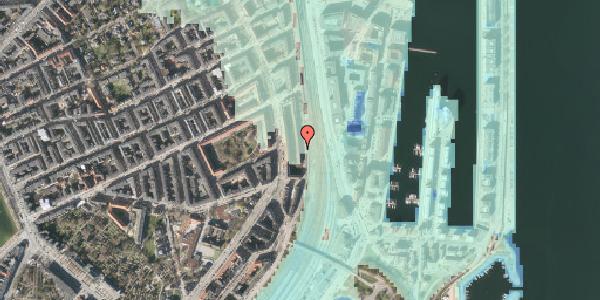 Stomflod og havvand på Østbanegade 35, 1. 2, 2100 København Ø