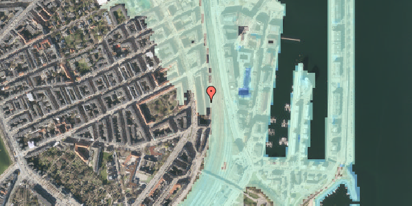 Stomflod og havvand på Østbanegade 37, 1. 4, 2100 København Ø