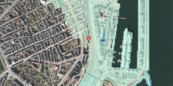 Stomflod og havvand på Østbanegade 39, 1. 1, 2100 København Ø