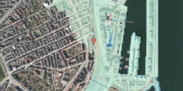 Stomflod og havvand på Østbanegade 41, kl. 2, 2100 København Ø
