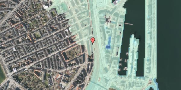 Stomflod og havvand på Østbanegade 43, 1. 2, 2100 København Ø