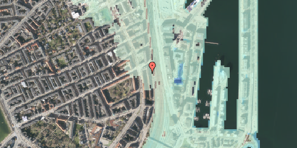 Stomflod og havvand på Østbanegade 45, st. tv, 2100 København Ø