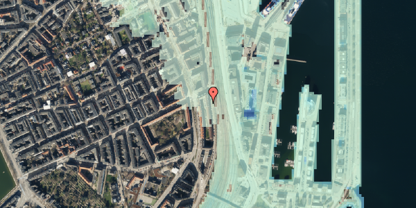Stomflod og havvand på Østbanegade 45, 4. tv, 2100 København Ø