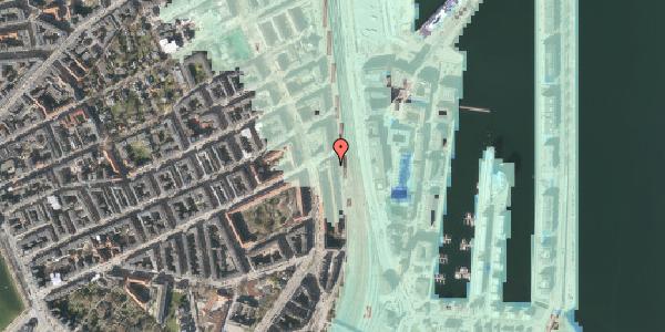Stomflod og havvand på Østbanegade 47, 1. tv, 2100 København Ø