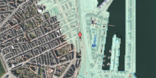 Stomflod og havvand på Østbanegade 47, 4. tv, 2100 København Ø