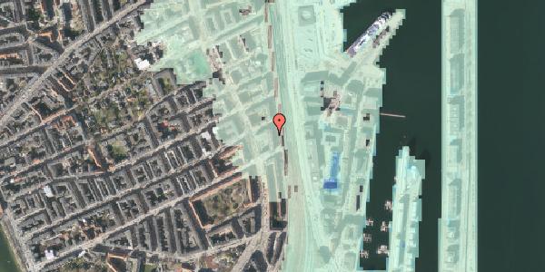 Stomflod og havvand på Østbanegade 55, 1. tv, 2100 København Ø