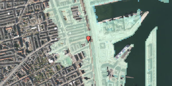 Stomflod og havvand på Østbanegade 103, 3. 33, 2100 København Ø