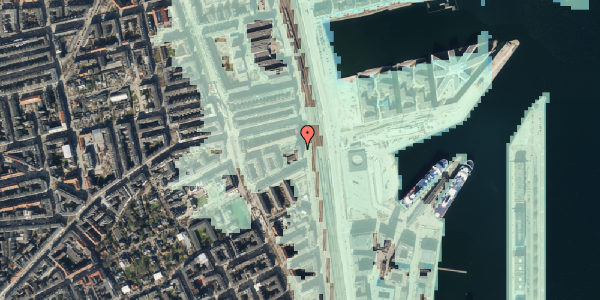 Stomflod og havvand på Østbanegade 103, 8. 84, 2100 København Ø