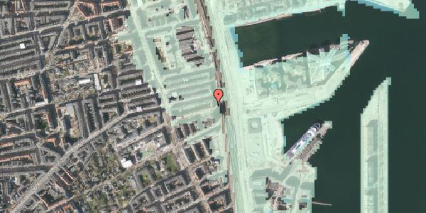 Stomflod og havvand på Østbanegade 105, 3. tv, 2100 København Ø