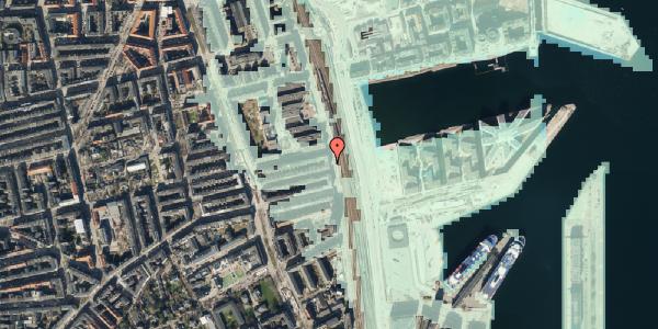 Stomflod og havvand på Østbanegade 113, 1. th, 2100 København Ø
