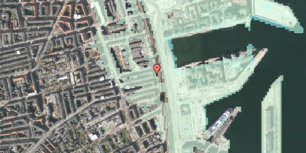 Stomflod og havvand på Østbanegade 113, 1. tv, 2100 København Ø