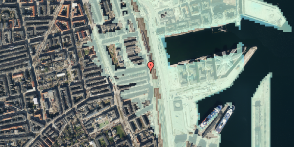 Stomflod og havvand på Østbanegade 113, 3. th, 2100 København Ø