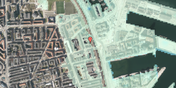 Stomflod og havvand på Østbanegade 145, 5. th, 2100 København Ø