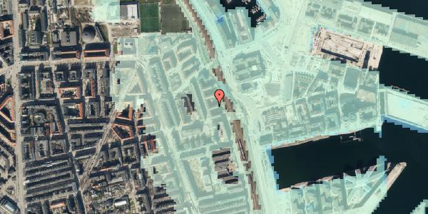Stomflod og havvand på Østbanegade 147, 2. tv, 2100 København Ø
