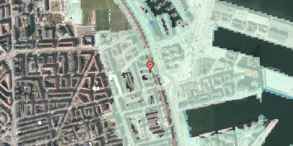 Stomflod og havvand på Østbanegade 151, 1. tv, 2100 København Ø