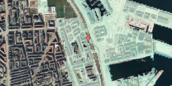 Stomflod og havvand på Østbanegade 151, 5. th, 2100 København Ø