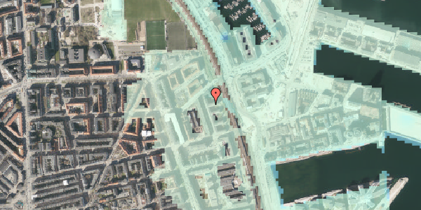 Stomflod og havvand på Østbanegade 161, st. tv, 2100 København Ø