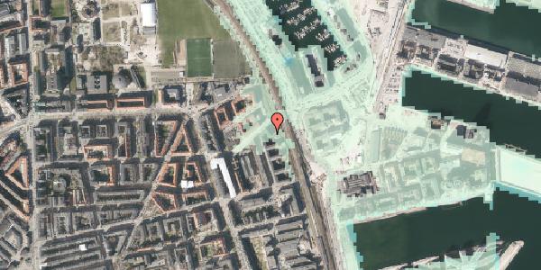 Stomflod og havvand på Østbanegade 165, st. , 2100 København Ø