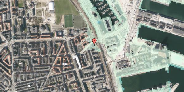 Stomflod og havvand på Østbanegade 167, 4. tv, 2100 København Ø