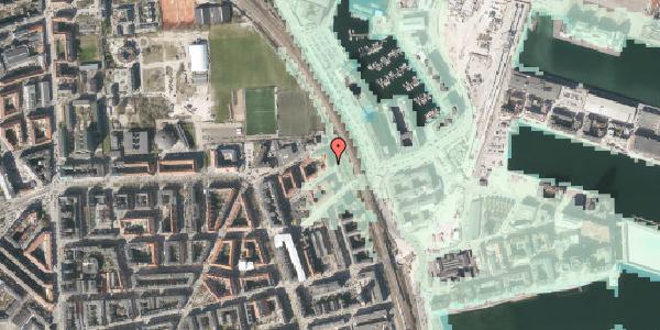 Stomflod og havvand på Østbanegade 175, 3. tv, 2100 København Ø