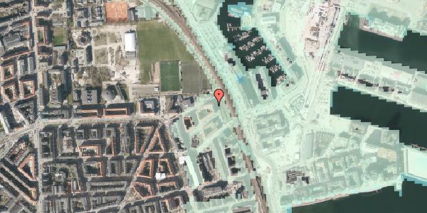 Stomflod og havvand på Østbanegade 177, 2. tv, 2100 København Ø