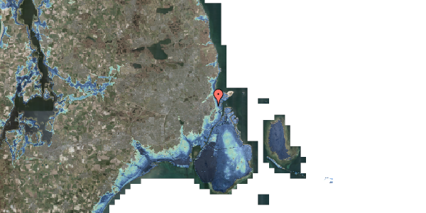 Stomflod og havvand på Øster Allé 25, st. 22, 2100 København Ø