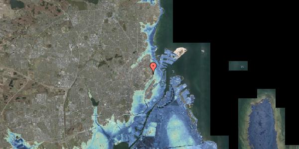 Stomflod og havvand på Øster Allé 25, 1. 30, 2100 København Ø