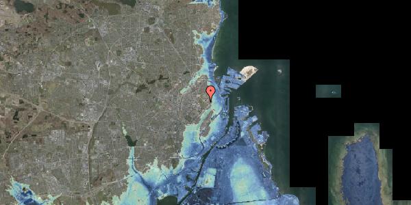 Stomflod og havvand på Øster Allé 27, 1. , 2100 København Ø