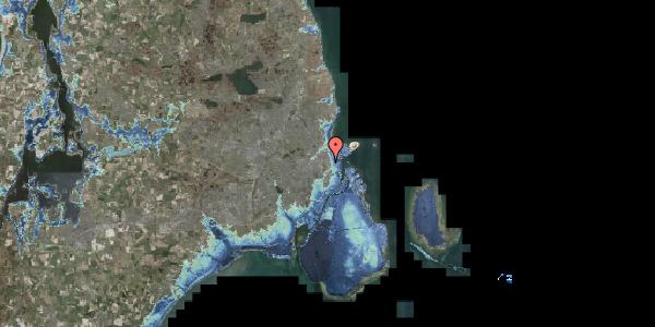 Stomflod og havvand på Øster Allé 48, 3. , 2100 København Ø